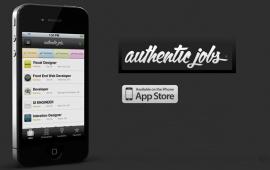 Authentic Jobs iPhone App