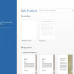 Microsoft Office 15 UI Leaked